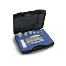 Set greutati etalon,inox, in cutie de plastic clasa F2 (333/334-4)