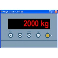 Soft cantarire Weight console.