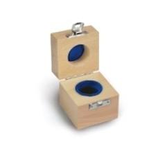 Cutie de lemn captusit pt o singura greutate etalon  ( 317-xx0-10)