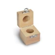 Cutie de lemn pt o singura greutate etalon  ( 337-xx0-200 )