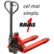 Transpalet cu cantar RAVAS1